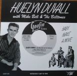 "45 EP ✦HUELYN DUVALL with MIKE BELL & BELLTONES✦ ""Baby Make A Move"" (Rockabilly)"